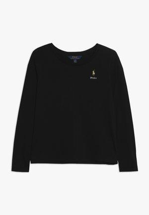 TEE - T-shirt à manches longues - black