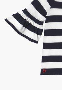 Polo Ralph Lauren - RUFFLE - Svetr - navy white stripe - 3