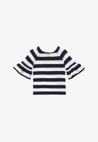 Polo Ralph Lauren - RUFFLE - Svetr - navy white stripe - 2