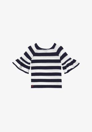 RUFFLE - Maglione - navy white stripe