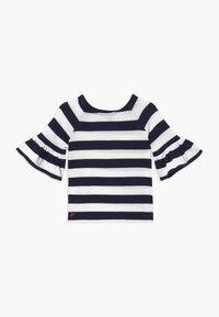 Polo Ralph Lauren - RUFFLE - Svetr - navy white stripe - 0