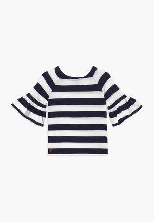 RUFFLE - Jumper - navy white stripe