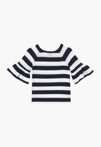 Polo Ralph Lauren - RUFFLE - Svetr - navy white stripe - 1