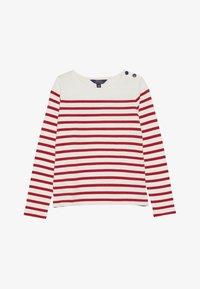 Polo Ralph Lauren - Top sdlouhým rukávem - clubhouse cream/red - 2