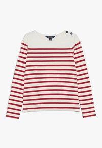 Polo Ralph Lauren - Top sdlouhým rukávem - clubhouse cream/red - 0