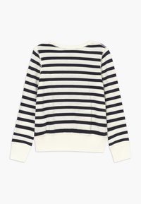 Polo Ralph Lauren - STRIPE TERRY - Mikina - clubhouse cream/hunter navy - 1