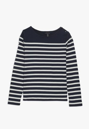 Maglietta a manica lunga - french navy/clubhouse cream
