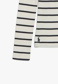 Polo Ralph Lauren - Maglietta a manica lunga - clubhouse cream/hunter navy - 3