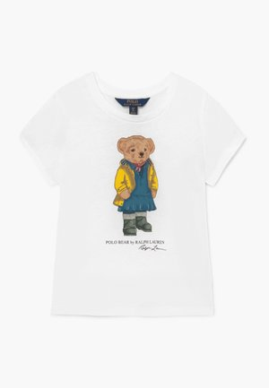 BEAR TEE - T-shirts med print - white