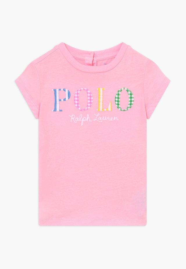 Printtipaita - carmel pink