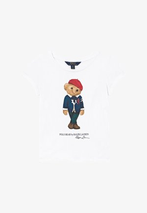 BEAR - T-shirt imprimé - white