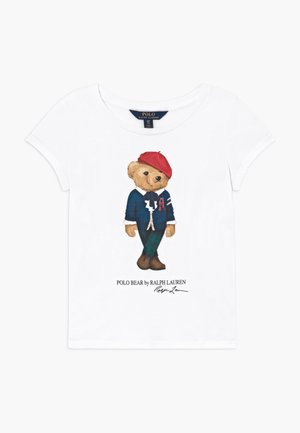 BEAR - T-Shirt print - white