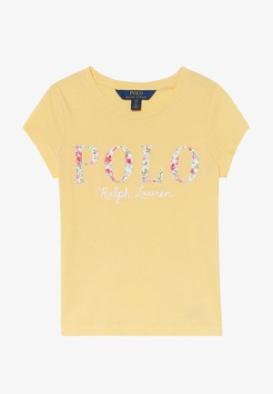 T-shirt con stampa - empire yellow