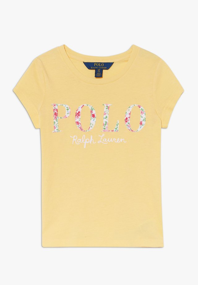T-shirt med print - empire yellow