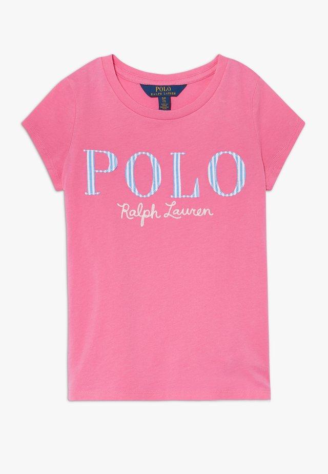 Print T-shirt - baja pink