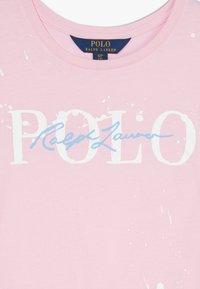 Polo Ralph Lauren - PAINT TEE - Triko spotiskem - caramel pink - 3