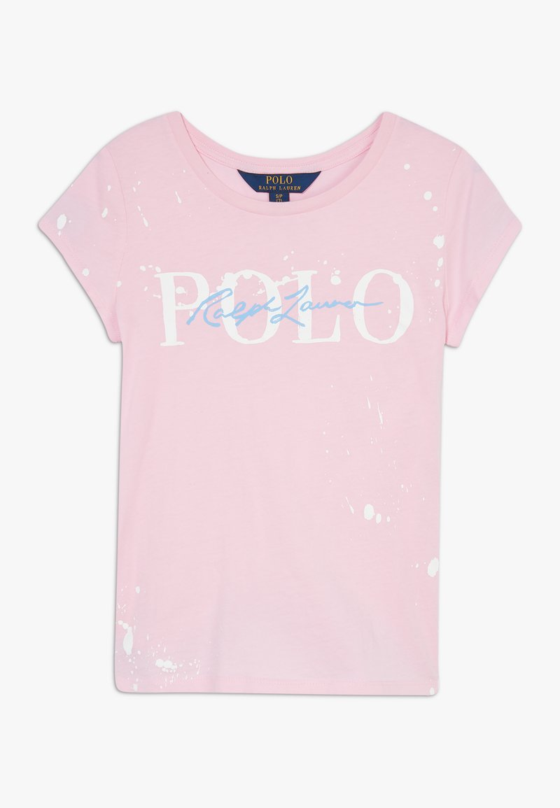 Polo Ralph Lauren - PAINT TEE - Triko spotiskem - caramel pink