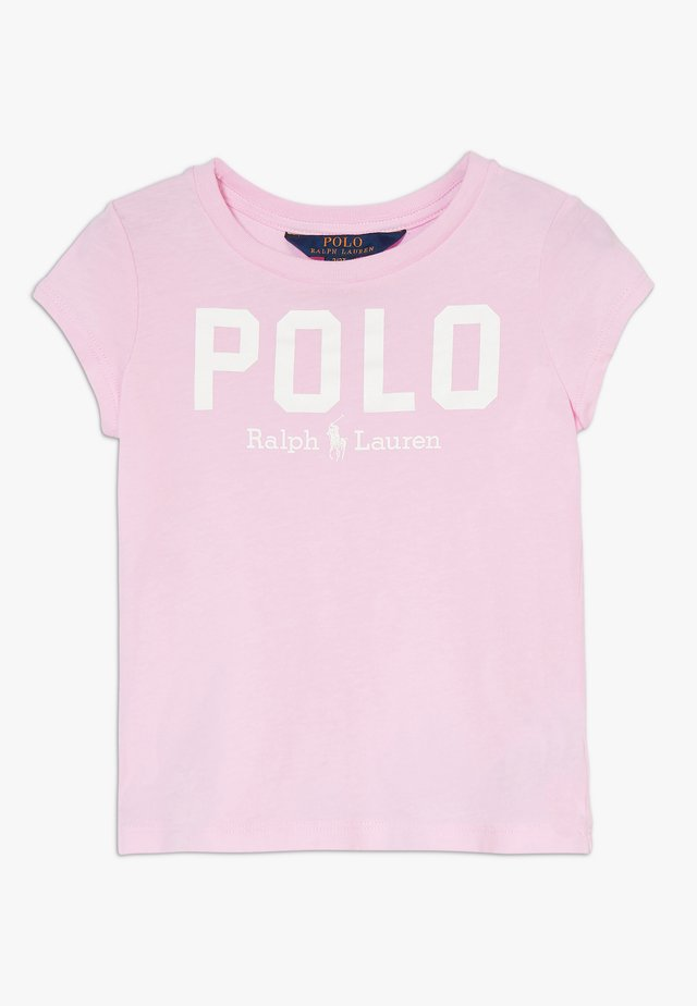 ICON  - T-shirt med print - carmel pink