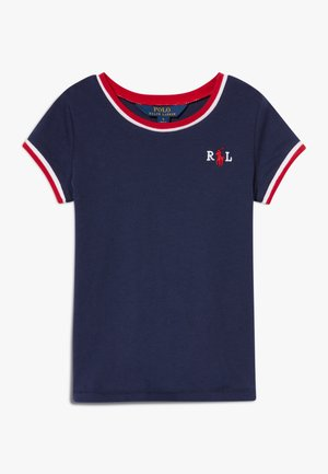 RINGER - T-shirt med print - french navy