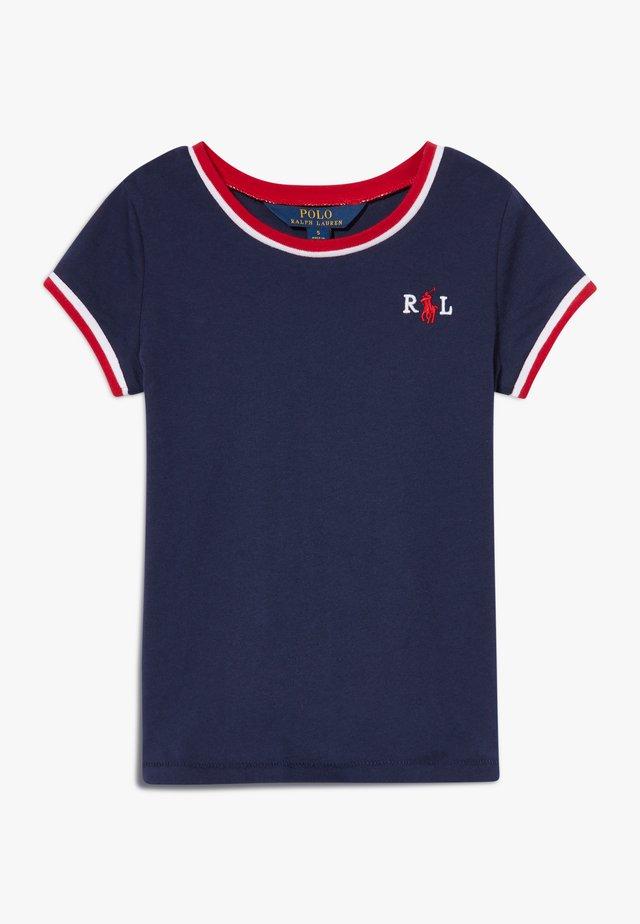 RINGER - Camiseta estampada - french navy