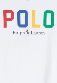 Polo Ralph Lauren - GRAPHIC - Triko s potiskem - pure white multi - 3