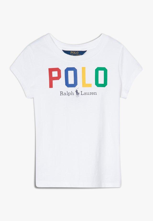 GRAPHIC - Camiseta estampada - pure white multi