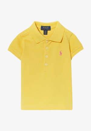 Polo shirt - signal yellow/baja pink