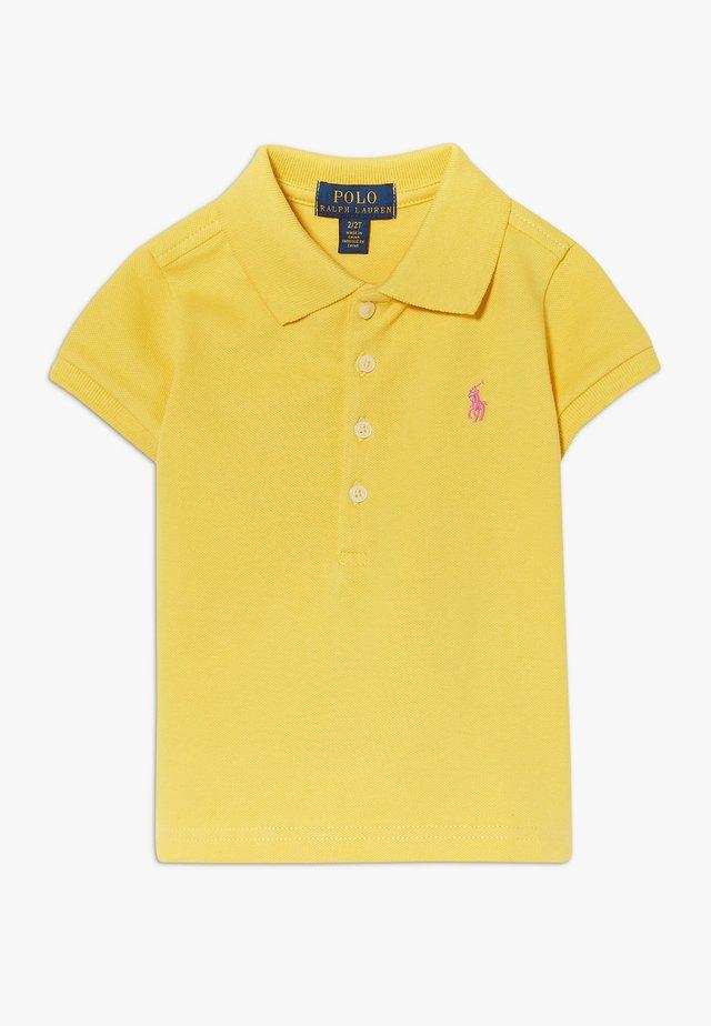 Polo shirt - signal yellow/baja pink
