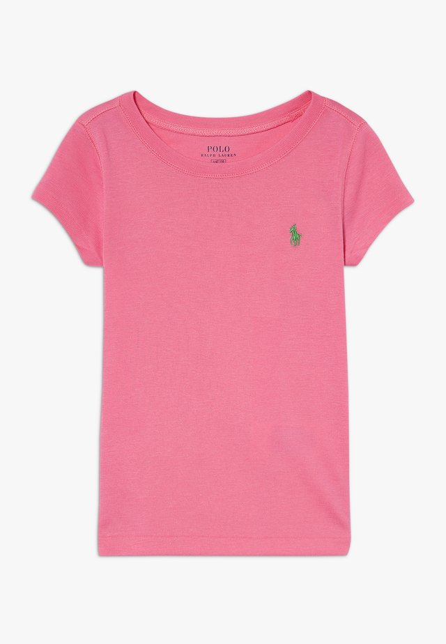 TEE - T-shirt basique - baja pink/cycle green