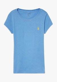 Polo Ralph Lauren - TEE - Camiseta básica - harbor island blue/signal yellow - 0