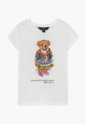 BEAR TEE - T-Shirt print - white