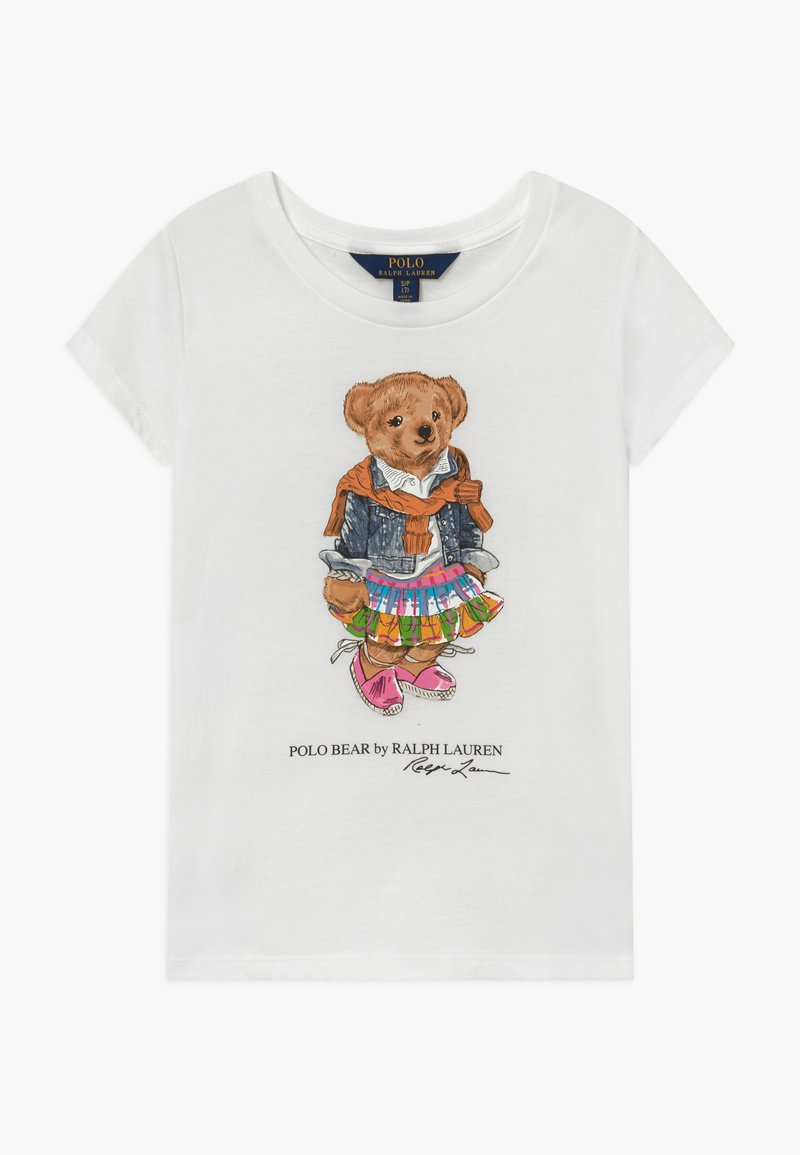 Polo Ralph Lauren - BEAR TEE - T-shirts med print - white