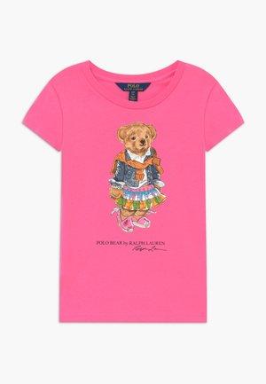 BEAR TEE - T-shirt con stampa - baja pink