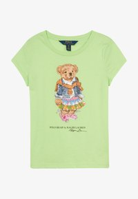 Polo Ralph Lauren - BEAR TEE - T-shirt con stampa - key lime - 2
