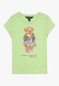 Polo Ralph Lauren - BEAR TEE - T-shirt con stampa - key lime - 0