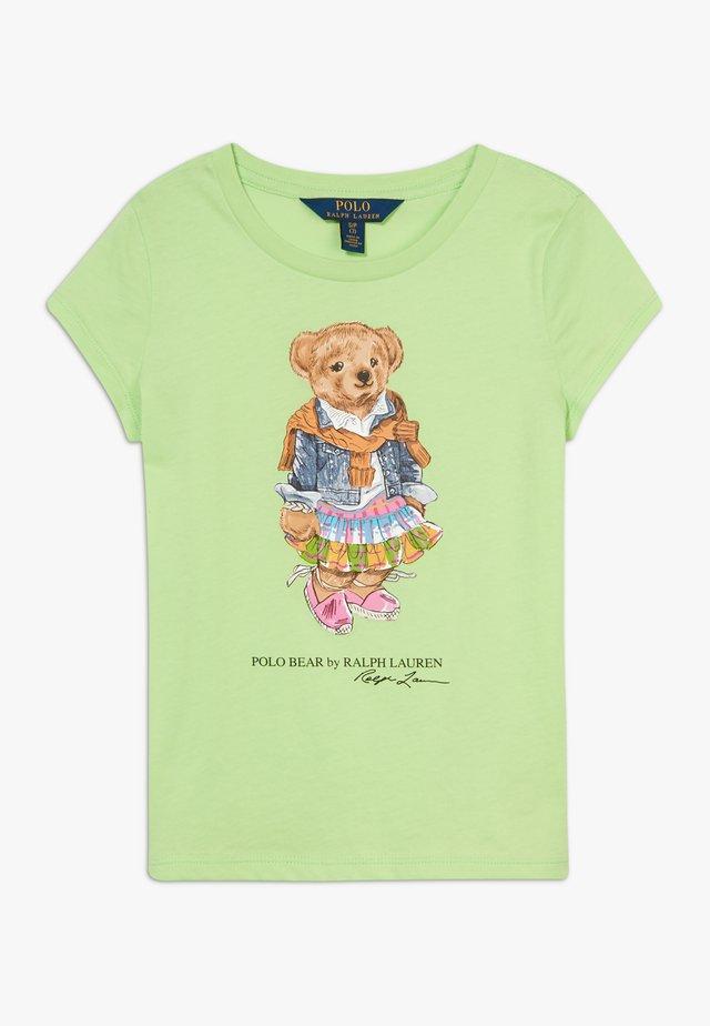 BEAR TEE - T-shirts print - key lime