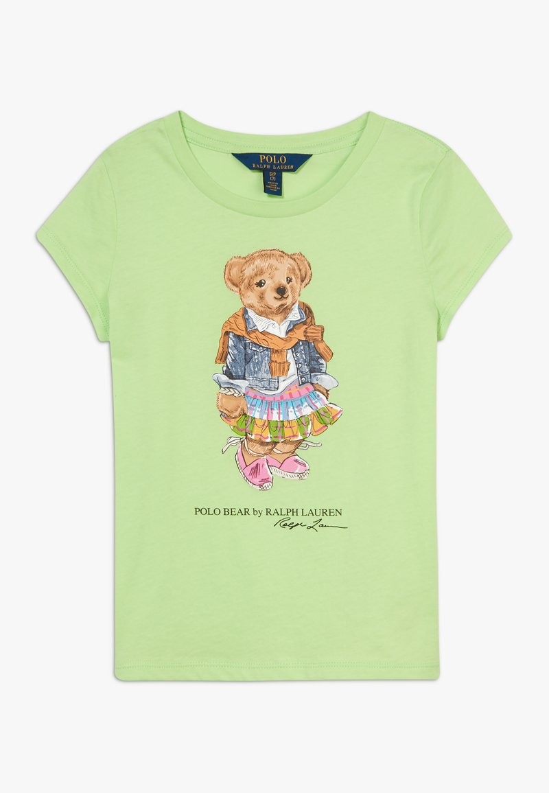 Polo Ralph Lauren - BEAR TEE - T-shirt con stampa - key lime