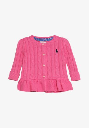 PEPLUM CARDI BABY - Vest - baja pink