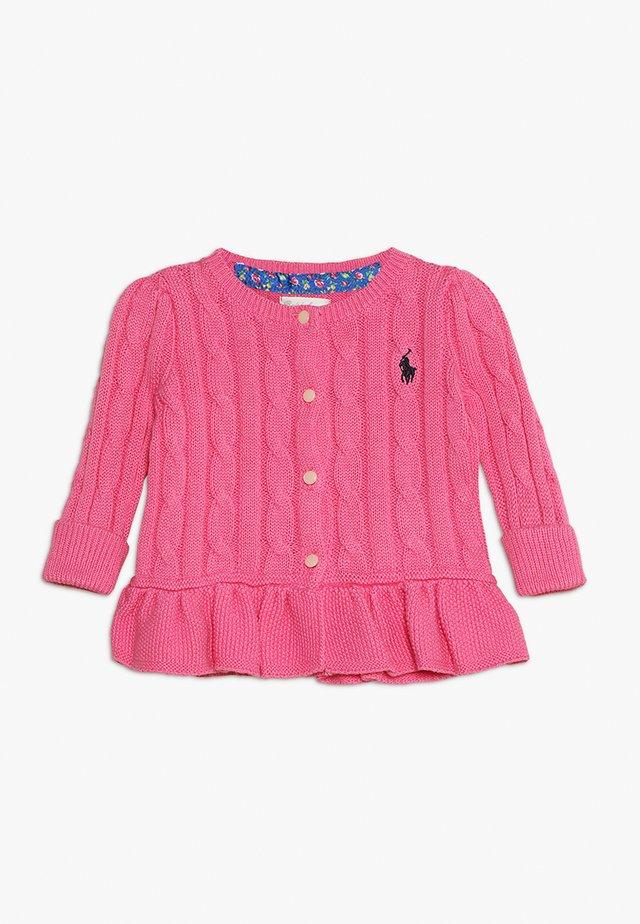PEPLUM CARDI BABY - Kofta - baja pink