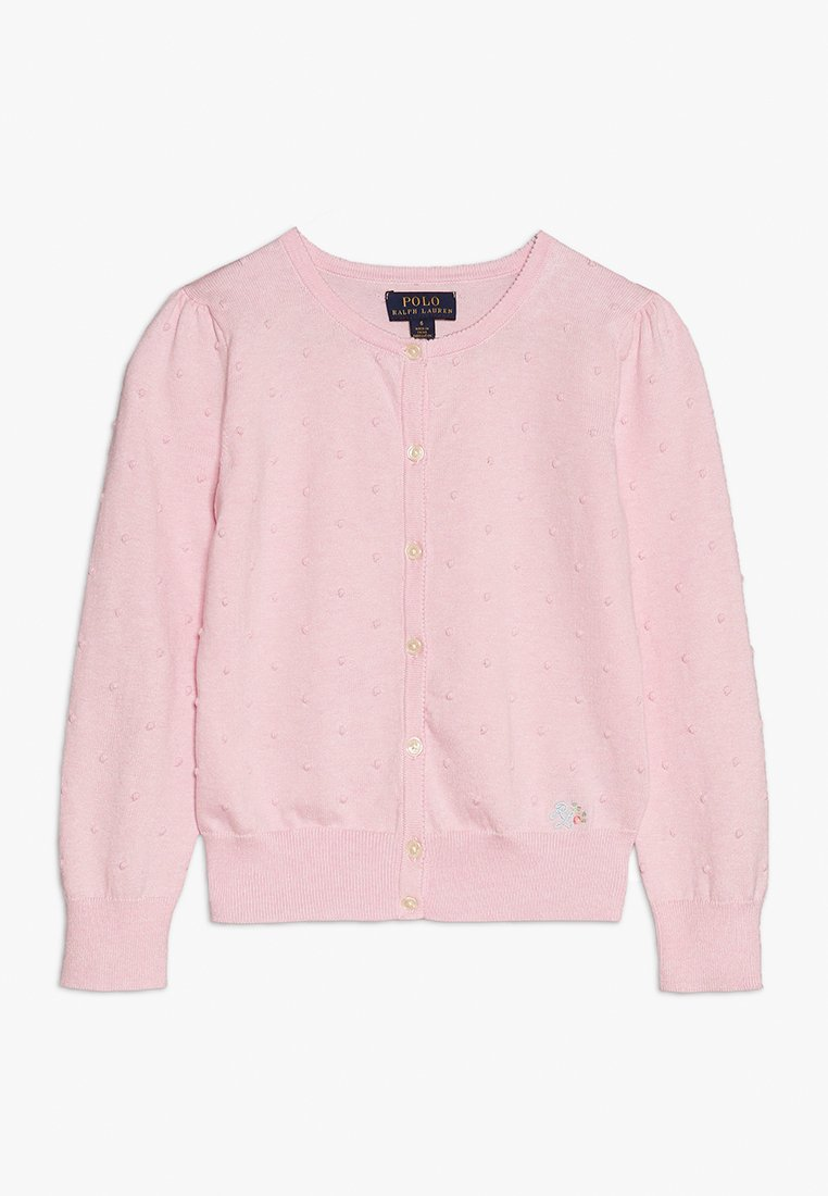 Polo Ralph Lauren - CARDIGAN - Kardigan - hint of pink heather