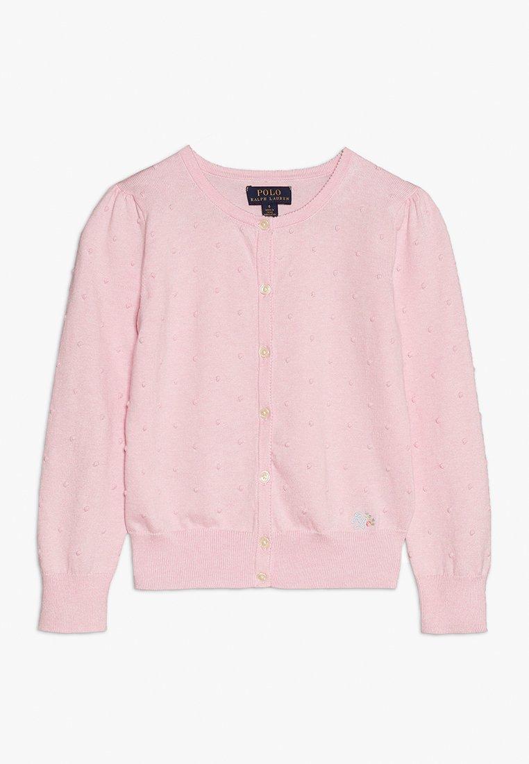 Polo Ralph Lauren - CARDIGAN - Strickjacke - hint of pink heather