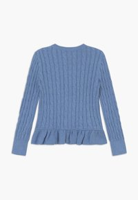 Polo Ralph Lauren - PEPLUM - Kardigan - soft royal heather - 1