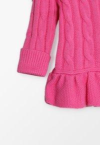 Polo Ralph Lauren - PEPLUM - Cardigan - baja pink - 4