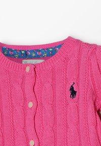 Polo Ralph Lauren - PEPLUM - Cardigan - baja pink - 2