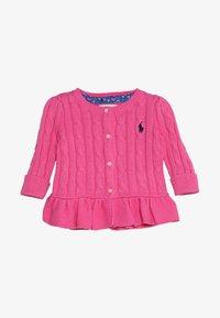Polo Ralph Lauren - PEPLUM - Cardigan - baja pink - 3