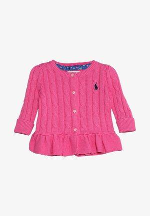 PEPLUM - Cardigan - baja pink