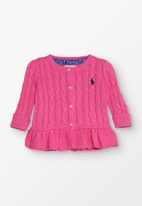 Polo Ralph Lauren - PEPLUM - Kardigan - baja pink - 0