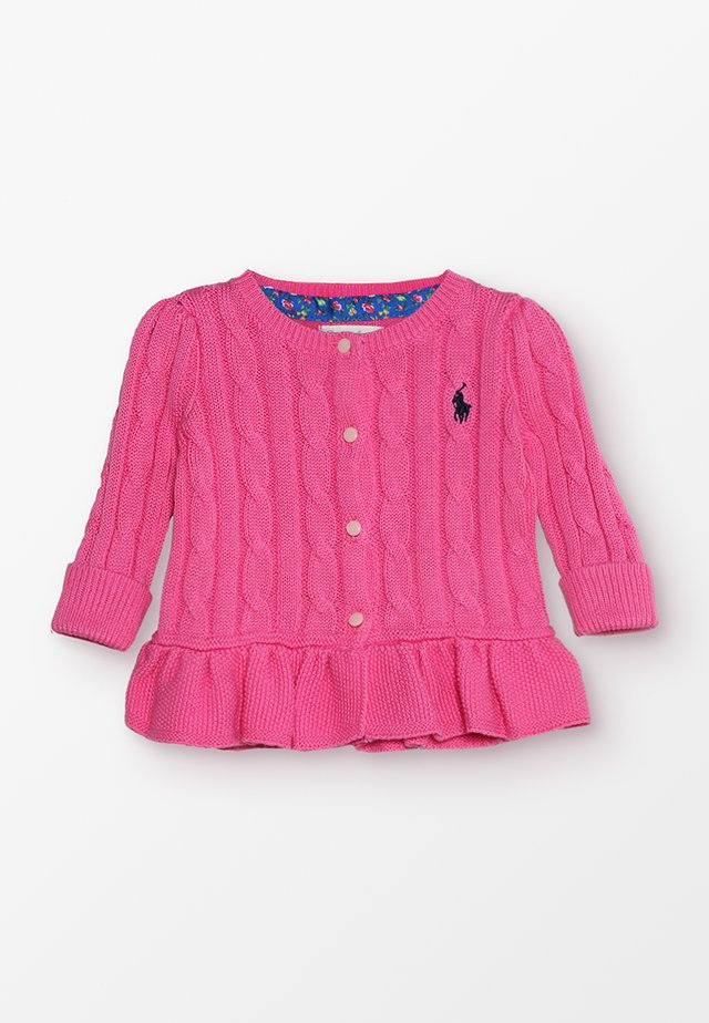 PEPLUM - Kofta - baja pink