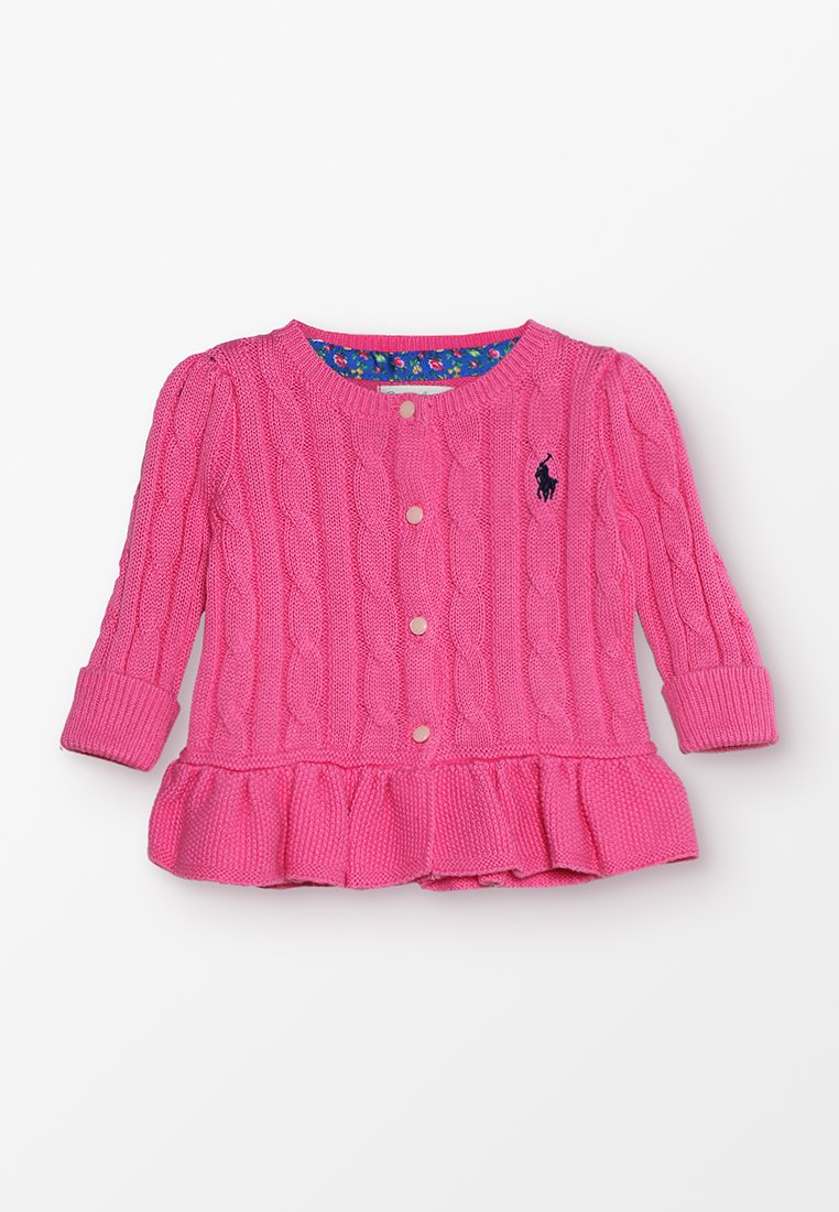Polo Ralph Lauren - PEPLUM - Cardigan - baja pink