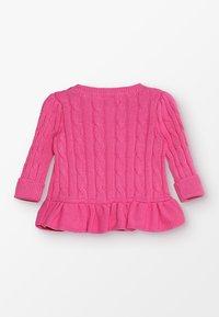 Polo Ralph Lauren - PEPLUM - Cardigan - baja pink - 1